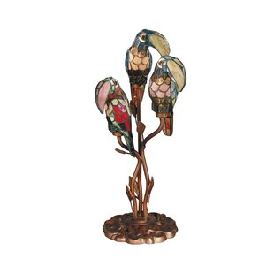 Best Reviews Bessie Parrot 23.5 Table Lamp By Bay Isle Home