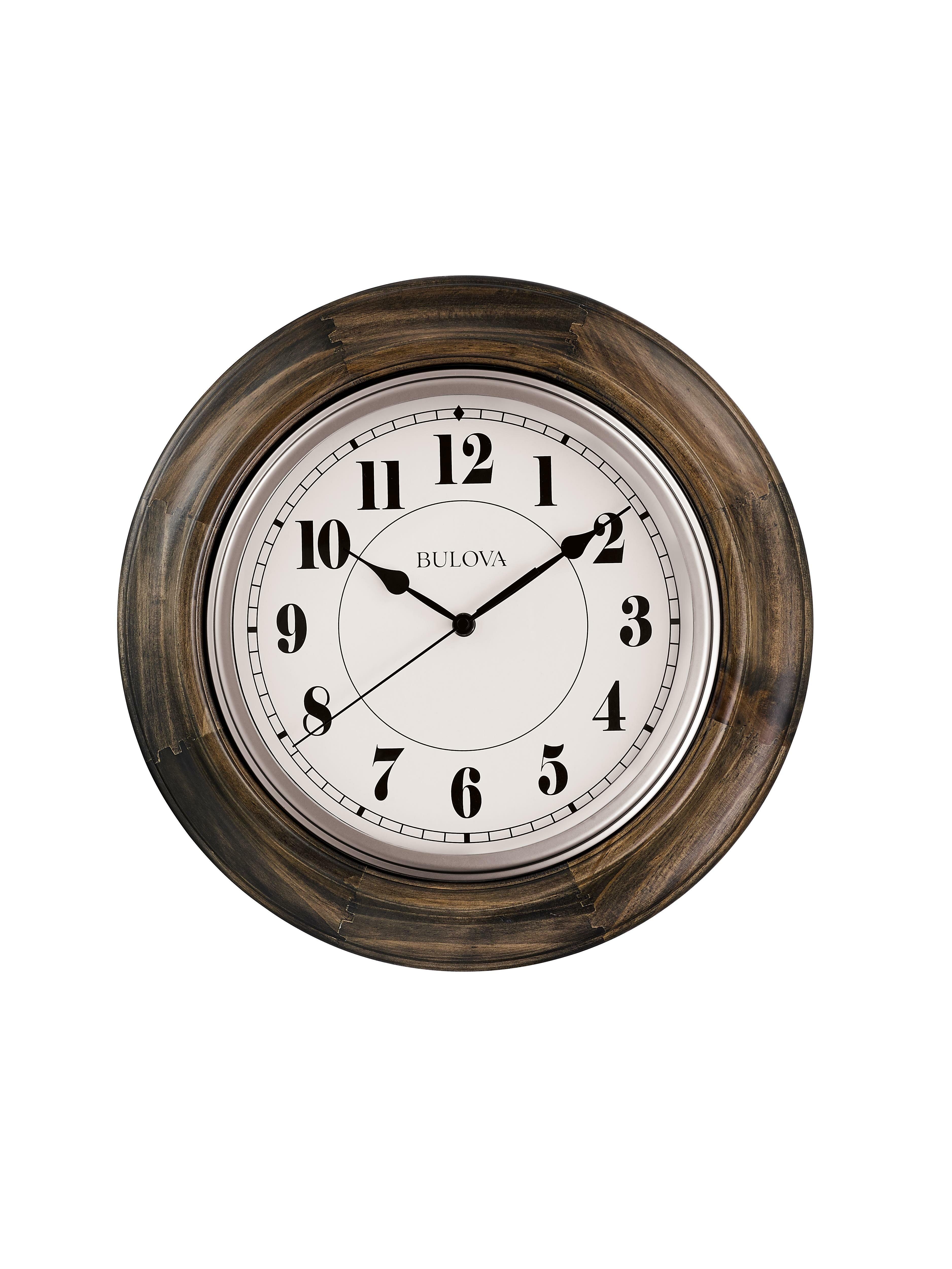 Bulova Albany 16 Wall Clock Wayfair