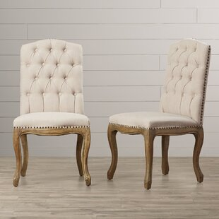 One Allium Way Armstead Upholstered Dining Chair (Set of 2)