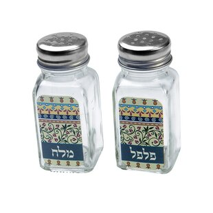 Floral 2 Piece Salt & Pepper Shaker Set