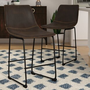Amendola 25.5 Bar Stool (Set of 2) Mercury Row