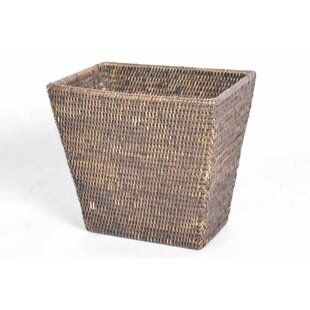 artifacts trading Rattan Waste Basket