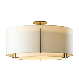 Hubbardton Forge Exos 3-Light Semi Flush Mount