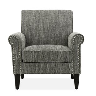 Printed Accent Chair With Arms Wayfair