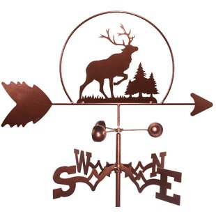 Elk Wildlife Caribou Weathervane By SWEN Products