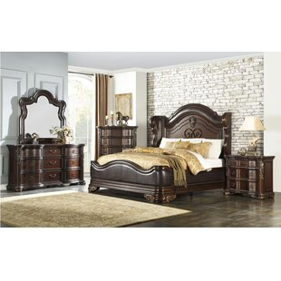 Astoria Grand Montoya Queen Upholstered Panel Bed