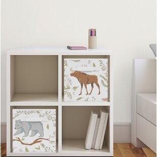 Woodland Toile Fabric Storage Cube BySweet Jojo Designs
