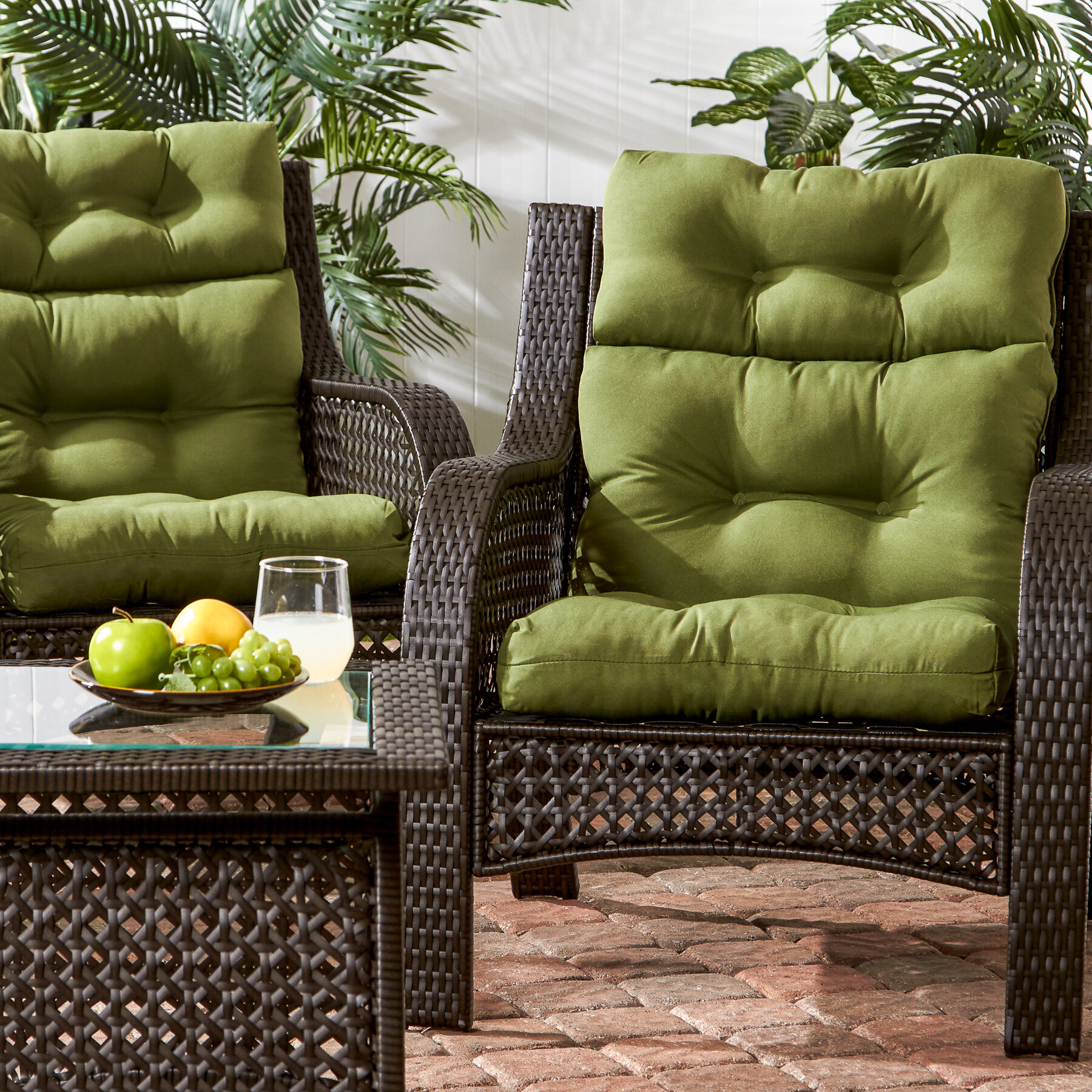 Sarver Indoor Outdoor Lounge Chair Cushion Reviews Birch Lane