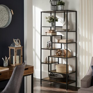 Ambleside Geometric Bookcase by Gracie Oaks SKU:EB900400 Buy