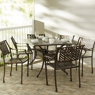 World Menagerie Trystan 7 Piece Dining Set