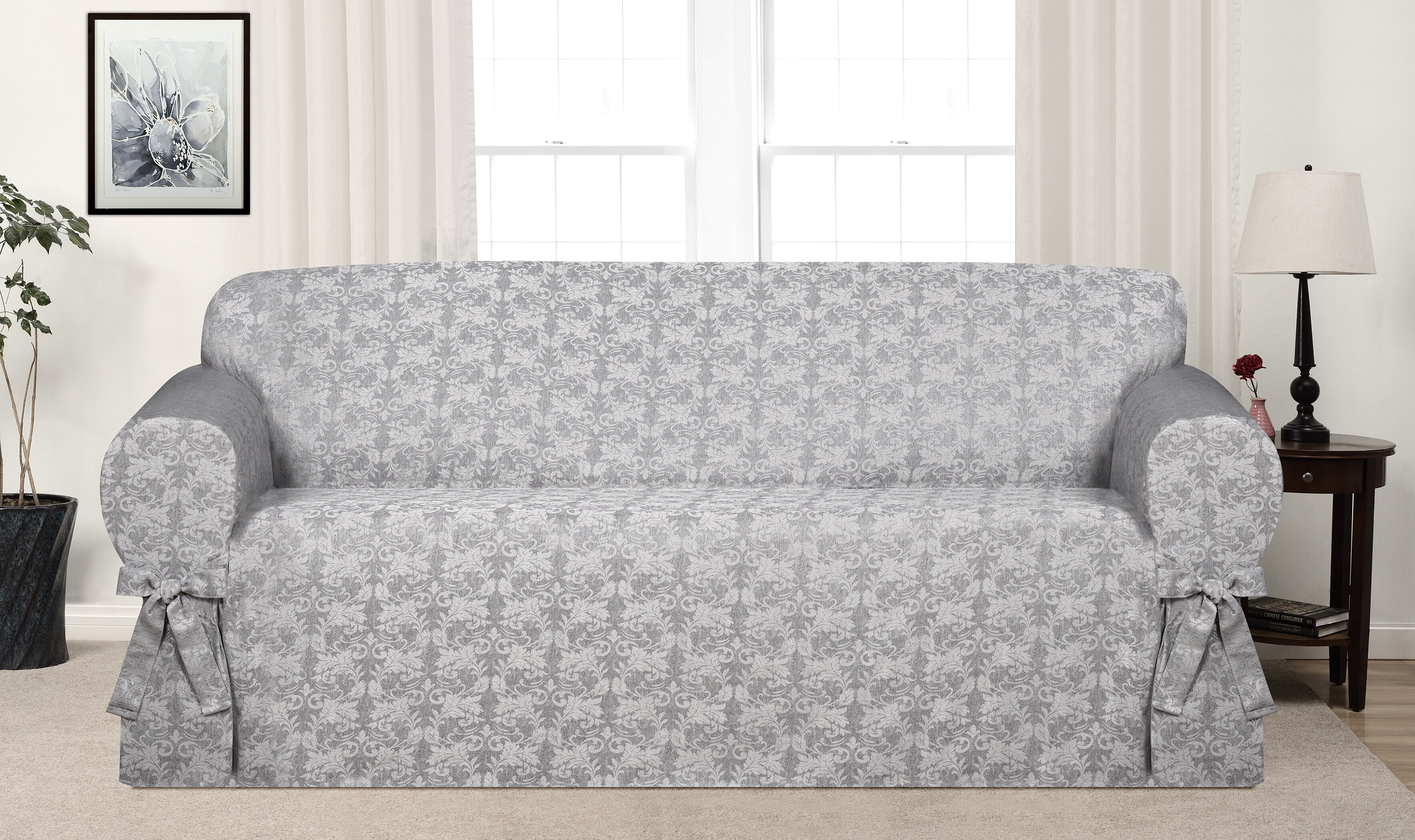 Astoria Grand Box Cushion Sofa