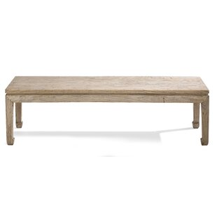 Jixi Wood Dining Bench by Ethnic Elements