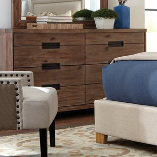 Magdaleno 8 Drawer Double Dresser by Loon Peak