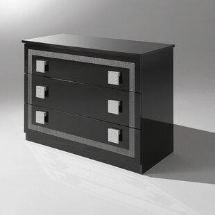 YumanMod Austin 3 Drawer Dresser
