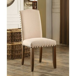 Rhoades Upholstered Dining Chair (Set of 2) Gracie Oaks