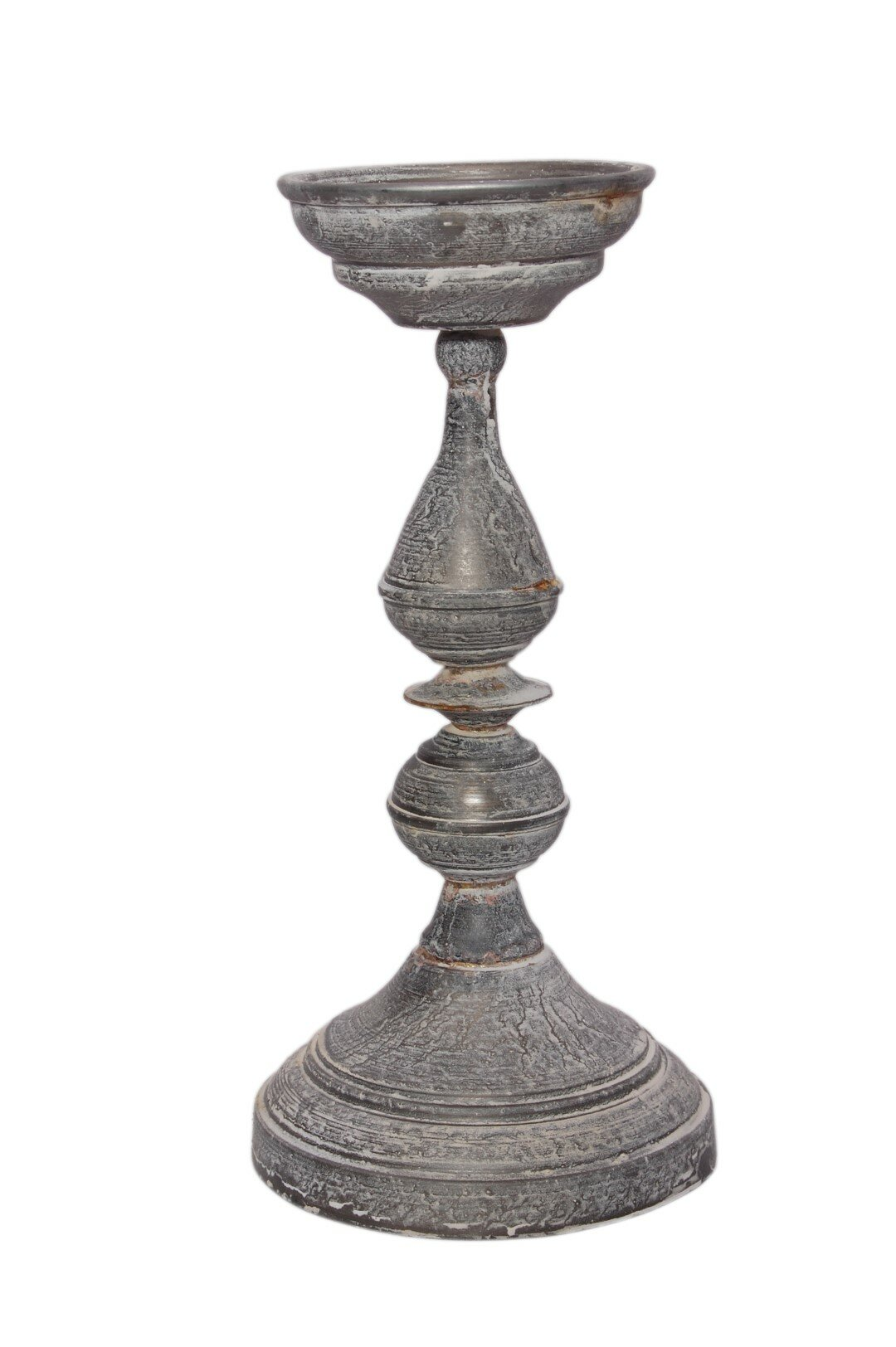 Ophelia Co Galvanized Metal Candlestick Reviews Wayfair