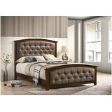 Bedirhan Queen Tufted Upholstered Standard Bed by Red Barrel Studio®