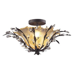Maysville 2-Light Semi Flush Mount