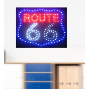 Route 66 LED Sign By Creative Motion