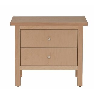 Arwood 2 Drawer Nightstand