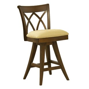 Ines 26 Swivel Bar Stool Red Barrel Studio