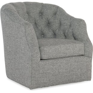 Sam Moore Addie Swivel Barrel Chair