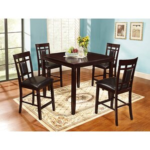 Abbeyton 5 Piece Counter Height Dining Se..