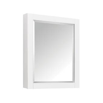 Robern R3 Series Recessed Or Surface Mount Frameless Medicine Cabinet With 3 Adjustable Shelves Reviews Perigold