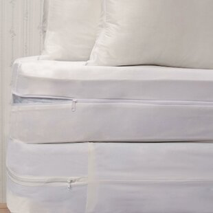 Bed Bug Hypoallergenic Waterproof Mattress Protector Set by Royal Heritage Home New
