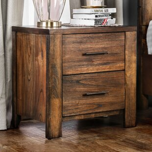 Spencyr 2 Drawer Nightstand