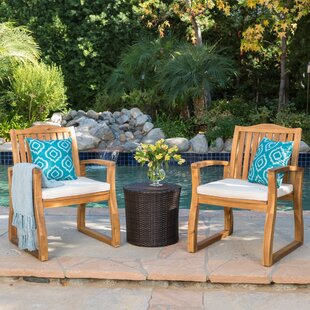 Eslettes 3 Piece Conversation Set with Cushions