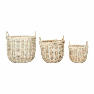 Christa 3 Pieces Laundry Set By August Grove