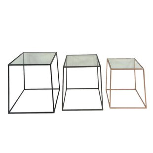 Compare prices 3 Piece  End Table Set by Sagebrook Home