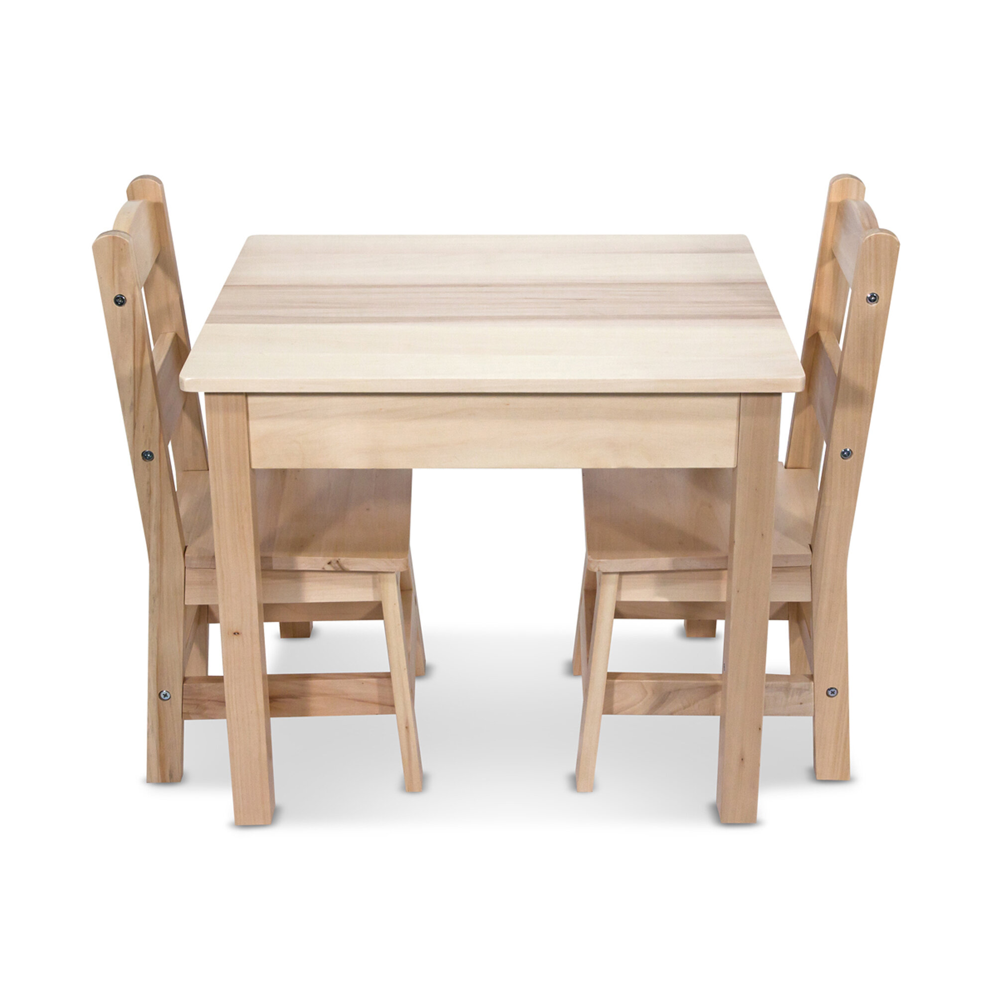 Terrific Kids 3 Piece Play Table And Chairs Set Machost Co Dining Chair Design Ideas Machostcouk