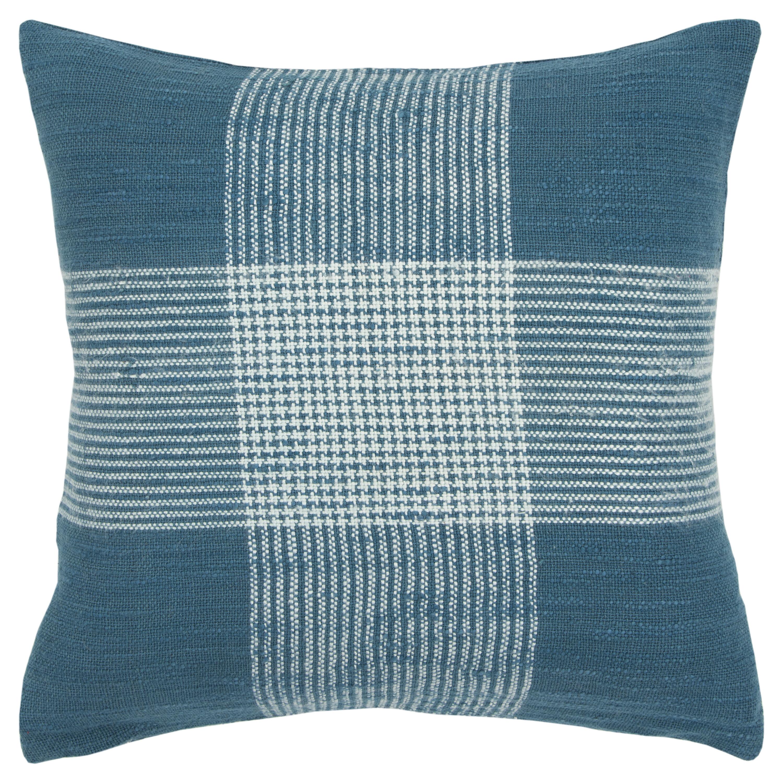 Check Plaid Teal Throw Pillows You Ll Love In 2021 Wayfair