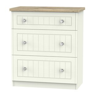 Zenfield 3 Drawer Chest By 17 Stories
