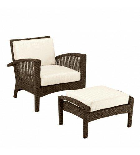 Woodard Trinidad Patio Chair With Cushions Perigold