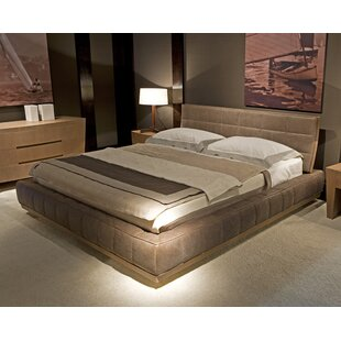 Annibale Colombo Milano Upholstered Platform Bed