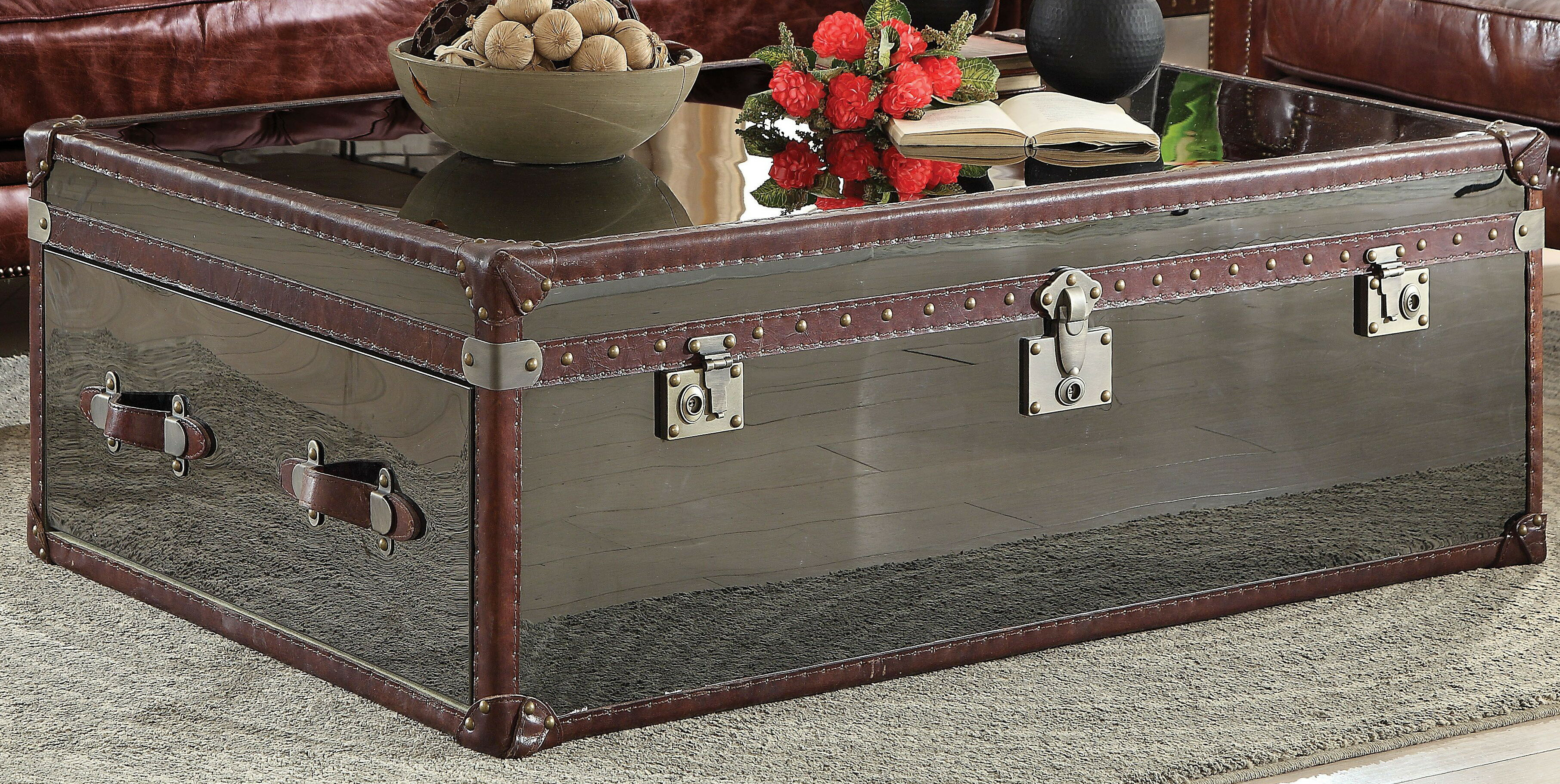 Navi Trunk Coffee Table By 17 Stories