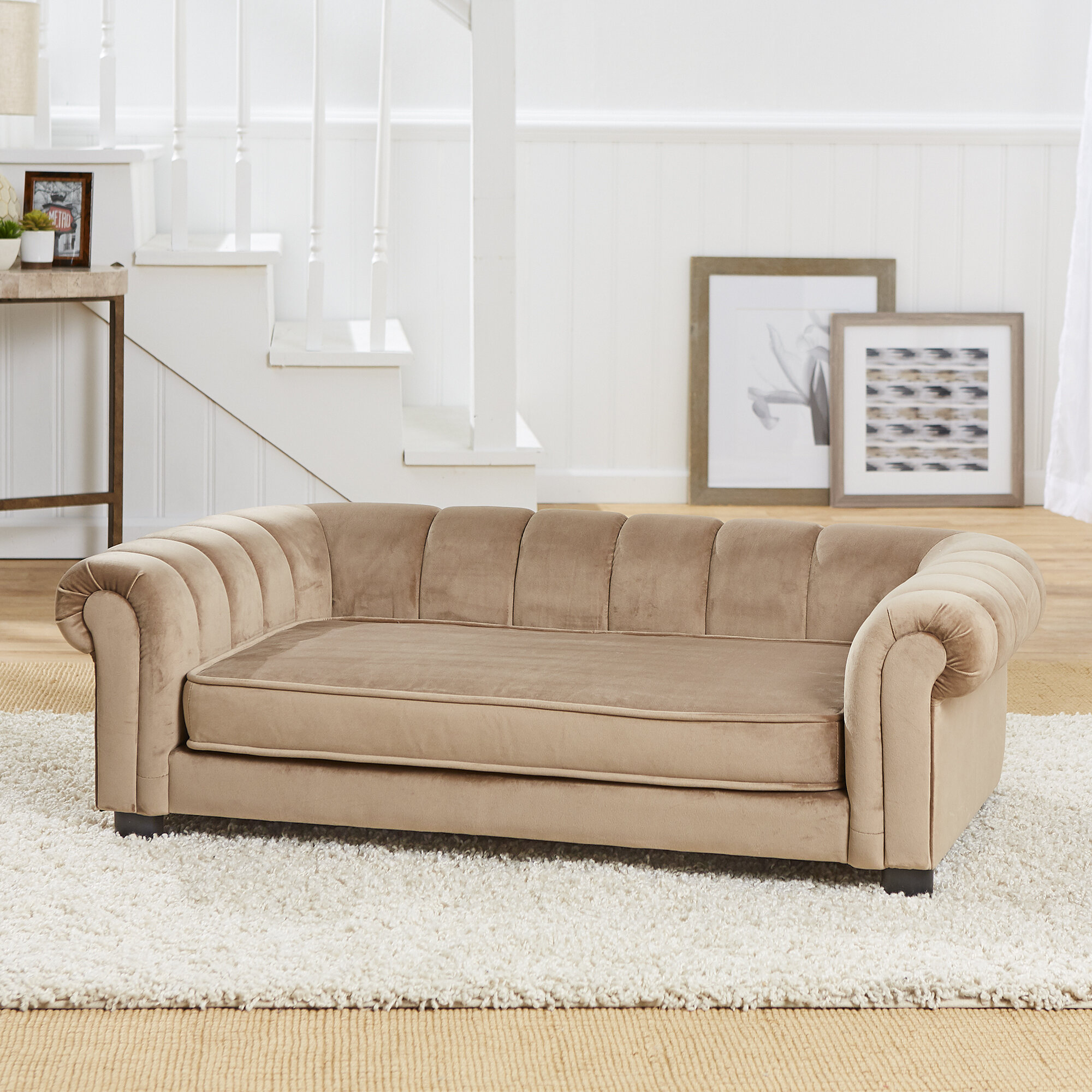 Picture of: Enchanted Home Pet Baptista Dog Sofa Reviews
