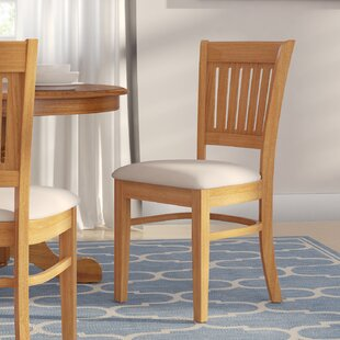 Corcoran Microfiber Soft Padded Dining Side Chair (Set of 2)