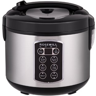 12 Cup Cooked Digital Rice Cooker
