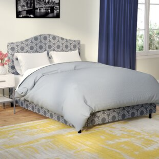 Hardy Upholstered Panel Bed by Latitude Run