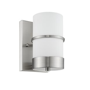 Ryder Contemporary 1-Light LED Armed Sconce by Orren Ellis