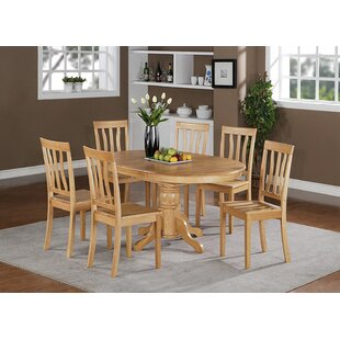 Darby Home Co Attamore 7 Piece Dining Set