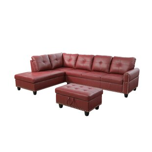 Shop Samuelson Sectional with Ottoman by Red Barrel Studio