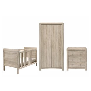 Fontana Cot Bed 3 Piece Nursery Furniture Set