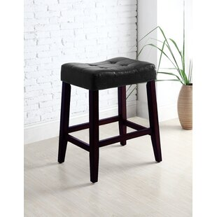 Lyndale Saddle Bar Stool (Set of 2) by Alcott Hill