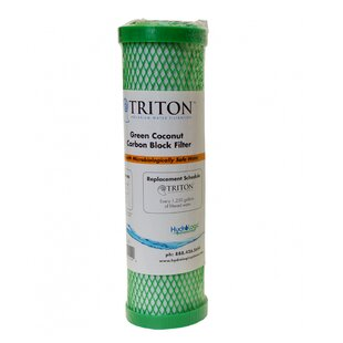 Hydrologic Triton Replacement Green Coconut Carbon Block Filter