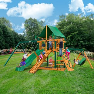 Frontier Swing Set. By Gorilla Playsets